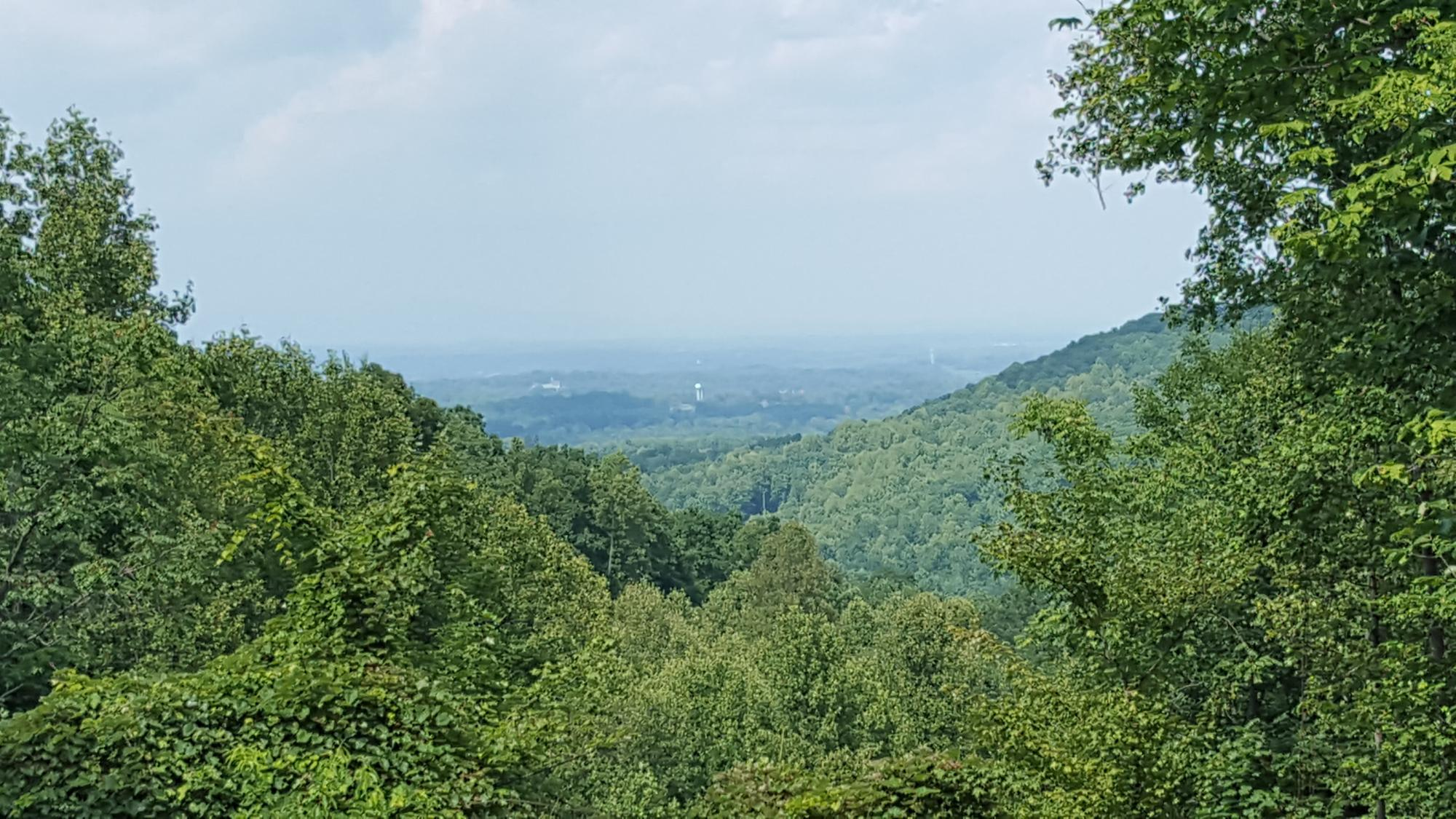 The view of Wilkesboro,NC
